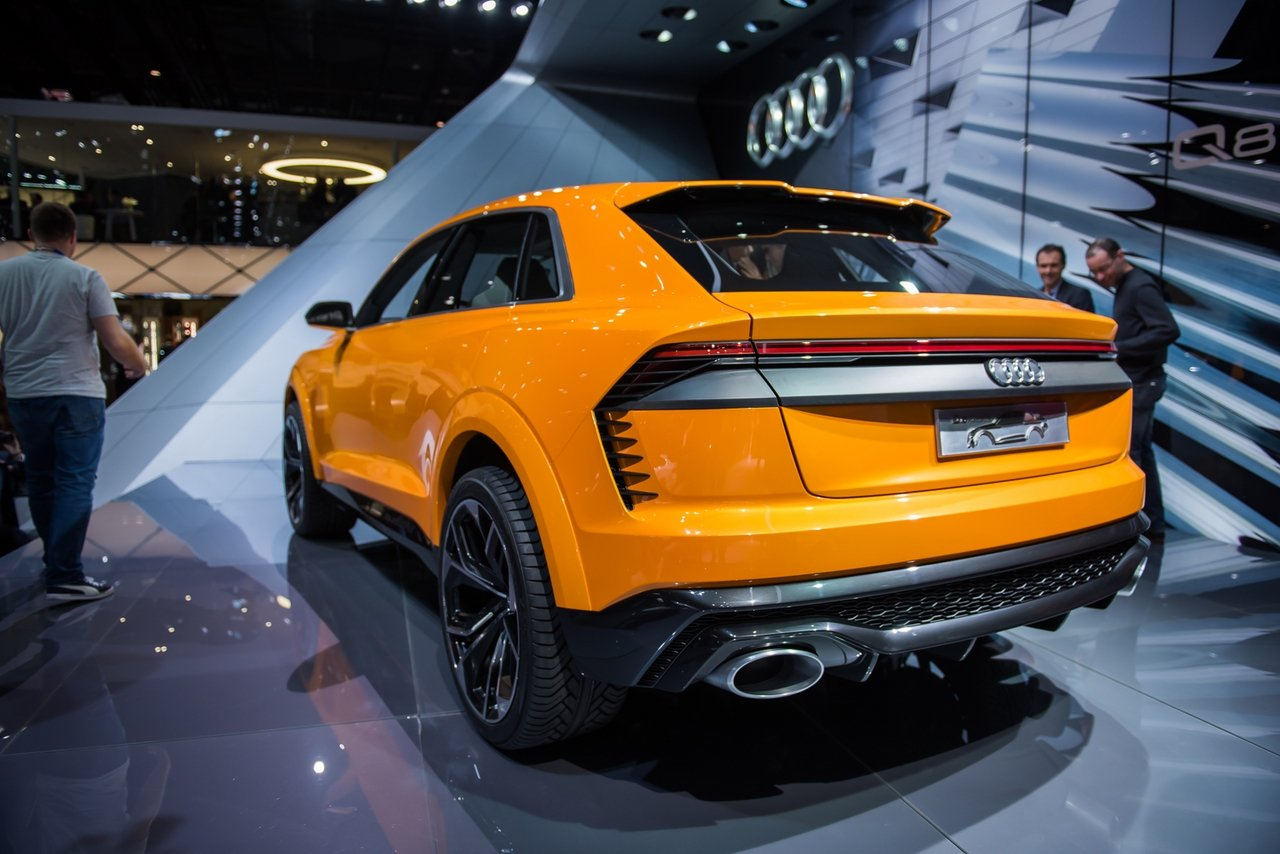 2017 audi q8 sport concept picture 709140 car review top speed. Black Bedroom Furniture Sets. Home Design Ideas