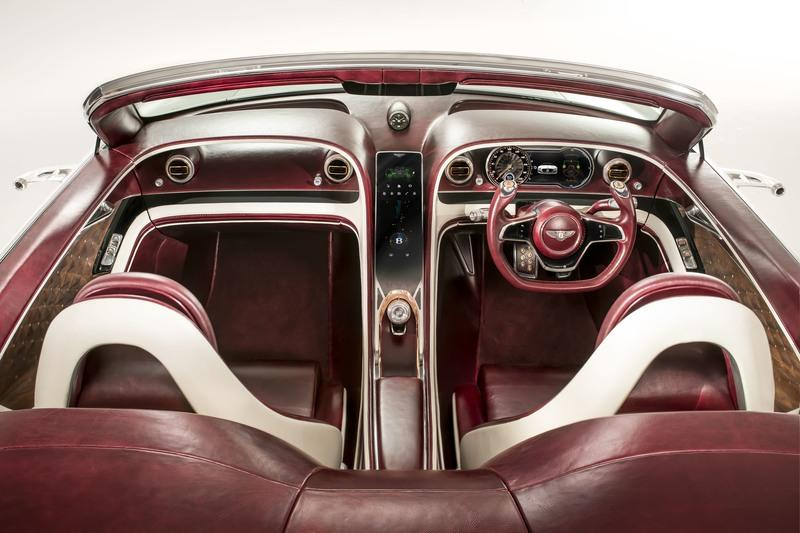 EXP 12 Speed 6e Concept Is Bentley's Commitment to Build an Electric Car High Resolution Interior - image 708226