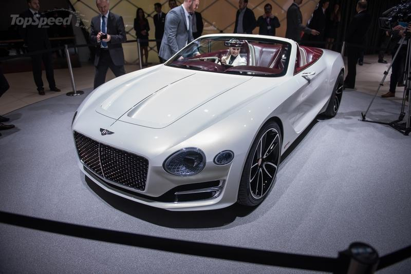 2017 Bentley EXP 12 Speed 6e Concept High Resolution Exterior AutoShow - image 709208