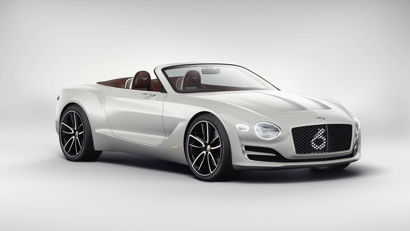 EXP 12 Speed 6e Concept Is Bentley's Commitment to Build an Electric Car