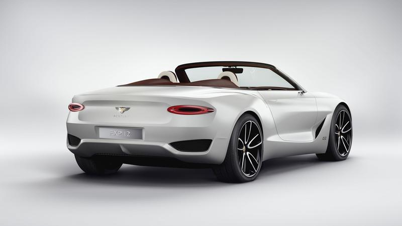 EXP 12 Speed 6e Concept Is Bentley's Commitment to Build an Electric Car High Resolution Exterior - image 708221