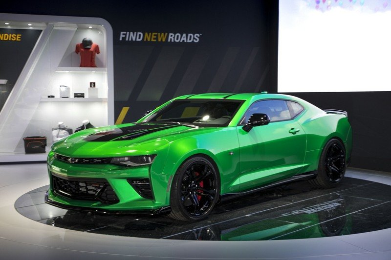 Chevrolet Camaro Track Concept Brings 1LE Package to Europe