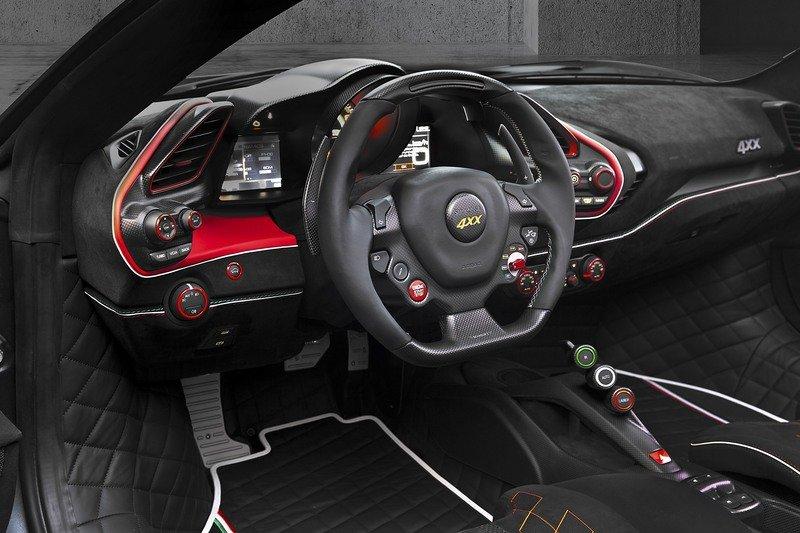 2017 Ferrari 488 Spider 4XX Siracusa by Mansory High Resolution Interior - image 711012