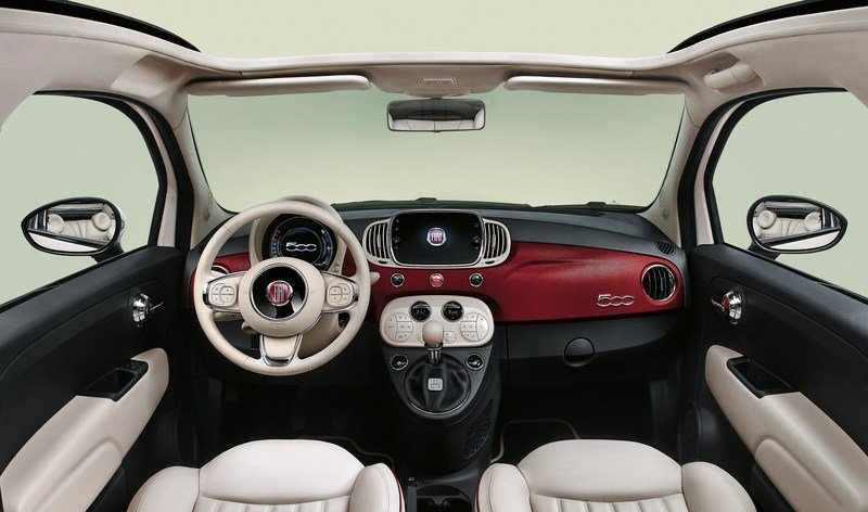2017 Fiat 500 60th Anniversary High Resolution Interior - image 707226
