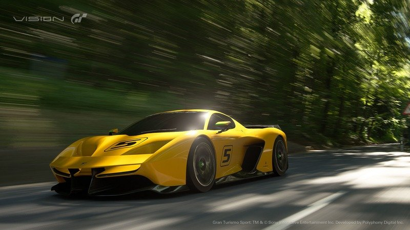 2017 Pininfarina Fittipaldi EF7 Vision Gran Turismo Exterior Computer Renderings and Photoshop - image 708769