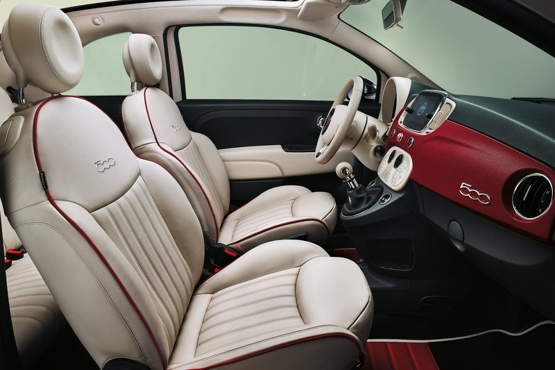 2017 Fiat 500 60th Anniversary High Resolution Interior - image 707812