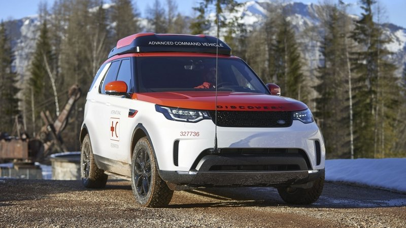 Land Rover's Project Hero Is Designed To Help Red Cross