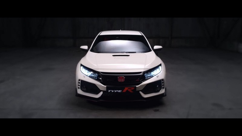 Honda Releases Industrial Strength Civic Type R Teaser: Video
