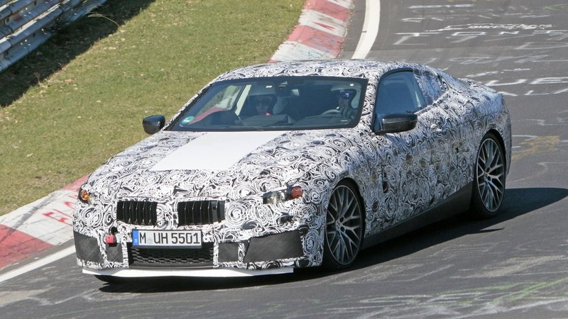 Is BMW Already Testing the M8 on the Nurburgring?
