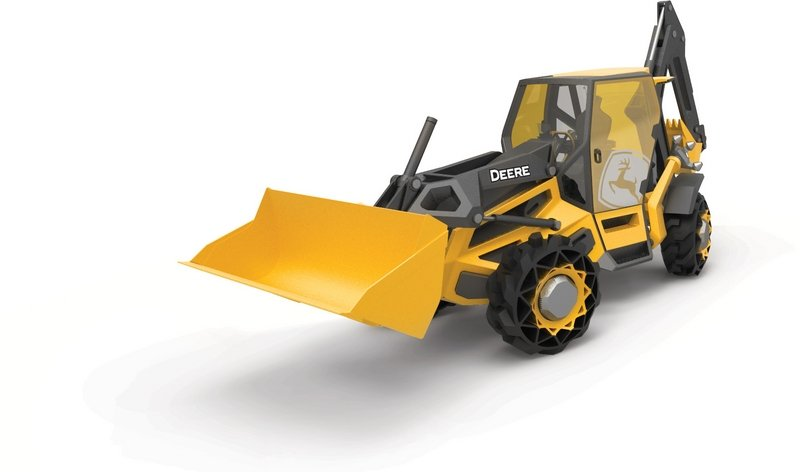 BMW and John Deere Tease Hybrid Backhoe Concept Exterior Computer Renderings and Photoshop - image 710048