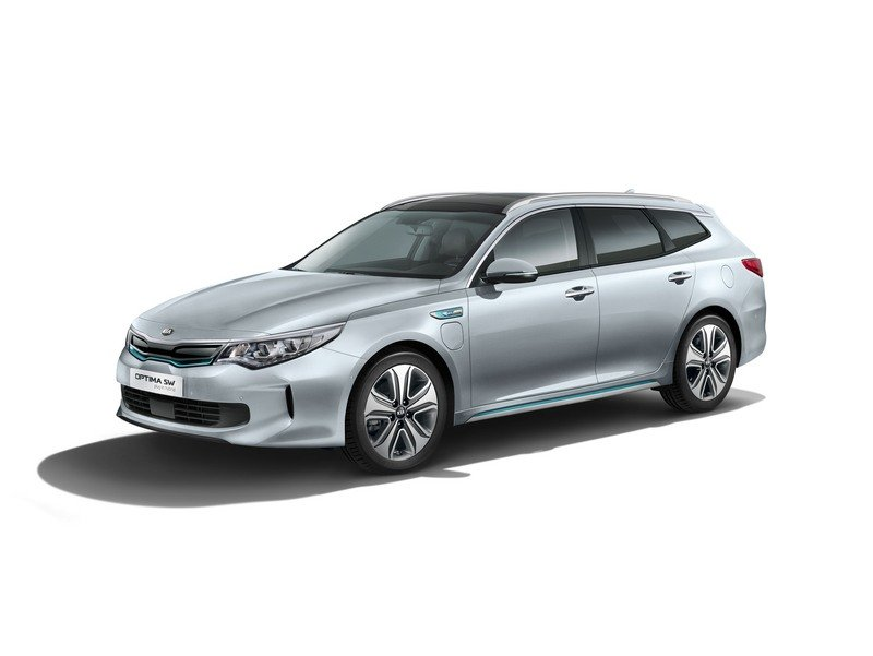 Kia Optima Sportswagon Plug-in Combines Cargo Space with Hybrid Engine High Resolution Exterior - image 708746