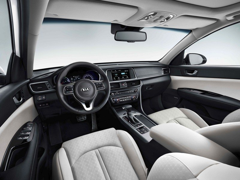 Kia Optima Sportswagon Plug-in Combines Cargo Space with Hybrid Engine High Resolution Interior - image 708743
