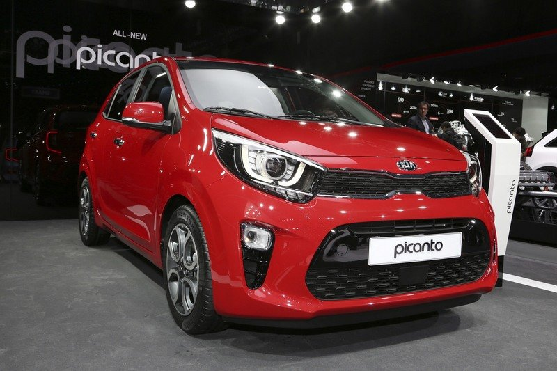 Kia Picanto Shows its New, Sporty Face in Geneva High Resolution Exterior AutoShow - image 708899