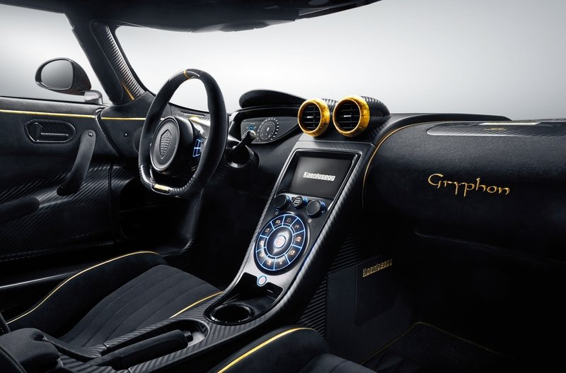 2017 Koenigsegg Agera RS 'Gryphon' High Resolution Interior - image 707675