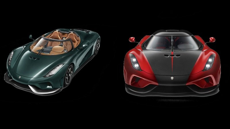 Koenigsegg Heads To Geneva With A Pair Of Regeras That'll Turn You Green With Envy And Red With Lust