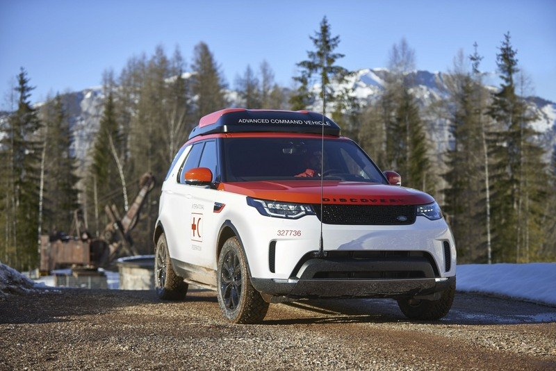 Land Rover's Project Hero Is Designed To Help Red Cross High Resolution Exterior - image 708240