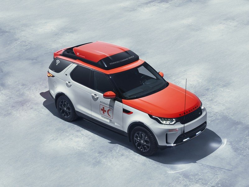Land Rover's Project Hero Is Designed To Help Red Cross High Resolution Exterior - image 708237