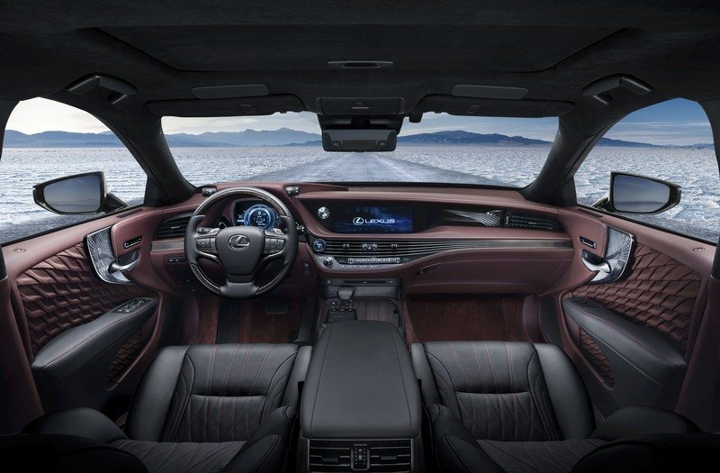 The 2018 Lexus LS 500h Is Further Proof That The Hybrids Are Taking Over High Resolution Interior - image 708474