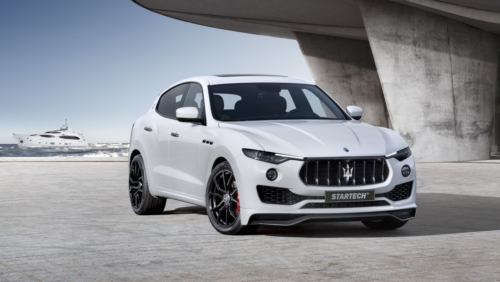 2017 maserati levante by startech top speed. Black Bedroom Furniture Sets. Home Design Ideas