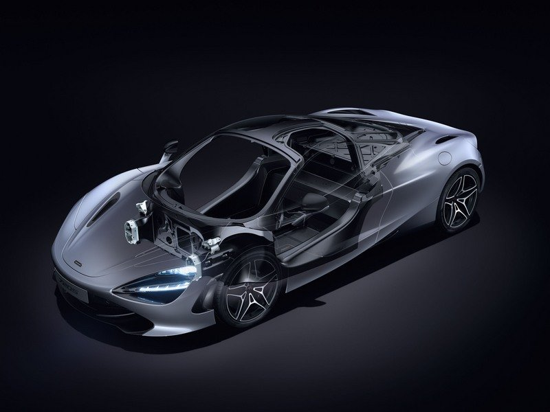 McLaren 720S Wows Geneva with Aggressive Design and P1-like Performance High Resolution Drivetrain - image 708586