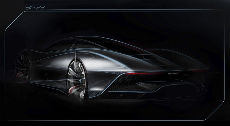 "New Sketch Offers Preview of McLaren's Upcoming ""Hyper-GT."" - image 710997"