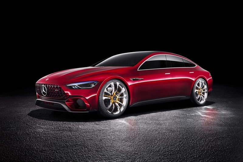 2017 Mercedes-AMG GT Concept High Resolution Exterior - image 710494