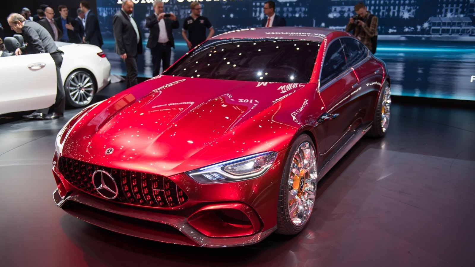 2017 Mercedes-AMG GT Concept Review - Gallery - Top Speed