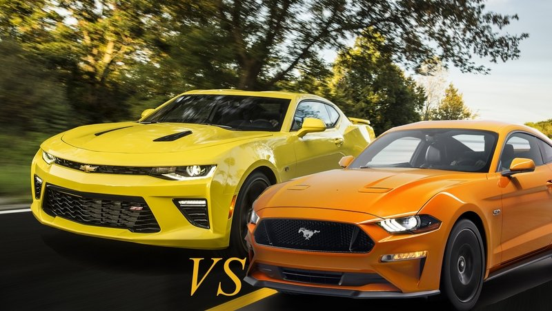Muscle Car Melee – Mustang vs. Camaro