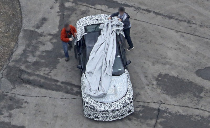 Is This Mysterious Chevrolet Camaro the Next Z/28? Exterior Spyshots - image 707764
