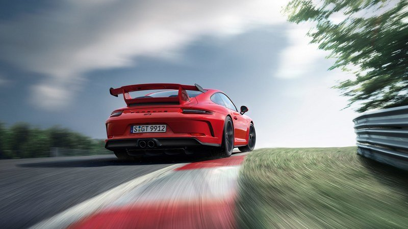 2018 Porsche 911 GT3 High Resolution Exterior - image 708323