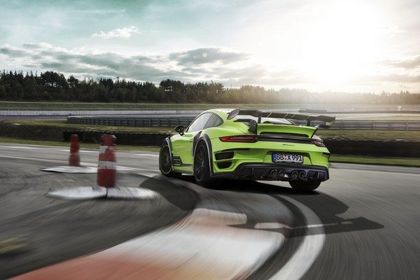 Porsche 911 Turbo S GTStreet R by TechArt