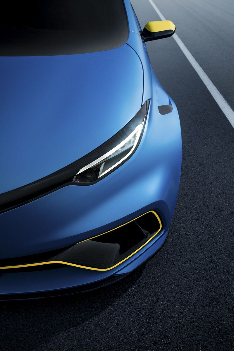This Renault ZOE Concept Is as Quick as the Lamborghini Huracán!