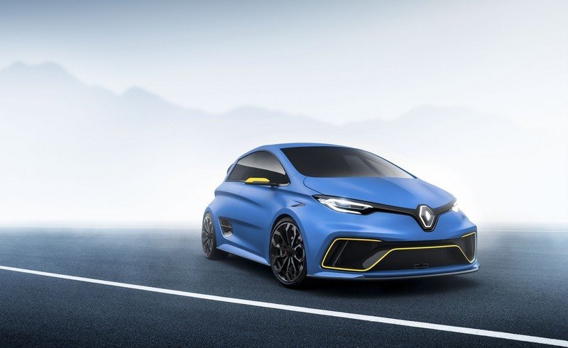 A Hot Hatch Renauls Zoe RS Has Us Hoping It Becomes A Reality