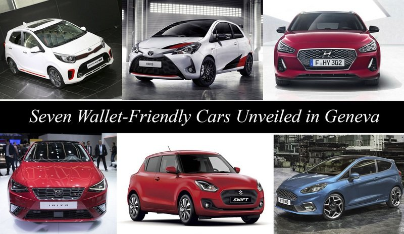 Seven Wallet-Friendly Cars Unveiled in Geneva