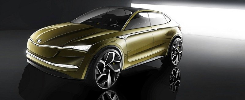 2017 Skoda Vision E Exterior Computer Renderings and Photoshop - image 711600