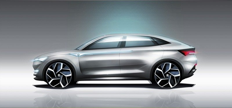 2017 Skoda Vision E Exterior Computer Renderings and Photoshop - image 711599