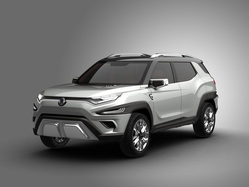 SsangYong's Never-Ending Run Of Concept SUVs Needs To Stop Exterior Computer Renderings and Photoshop - image 708676