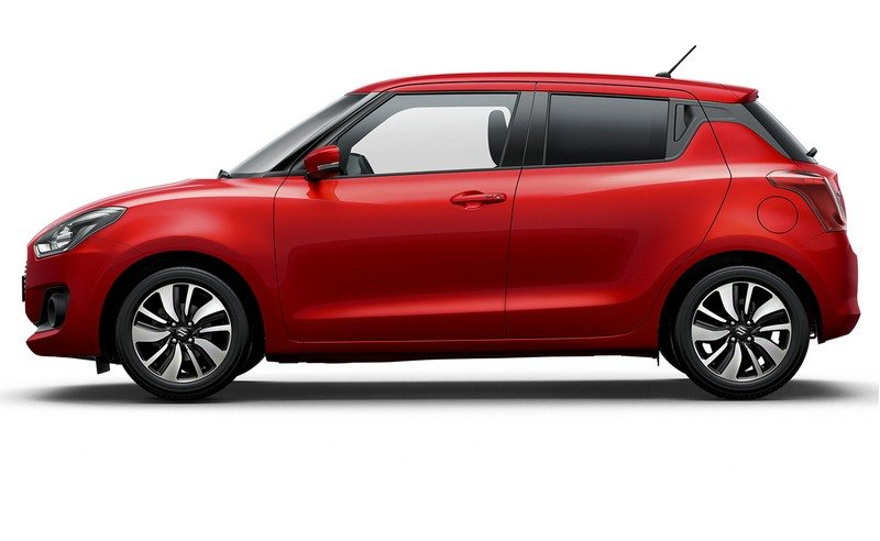 The new Suzuki Swift Is Lighter and More Fuel Efficient
