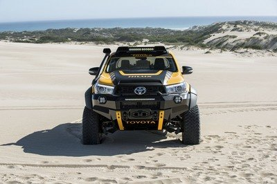 2017 Toyota Hilux Tonka Concept Top Speed