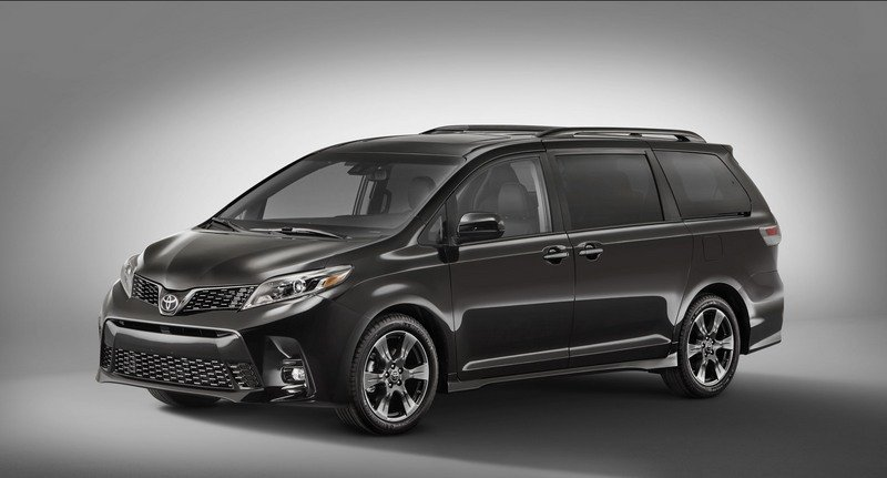 2018 Toyota Sienna High Resolution Exterior - image 711005