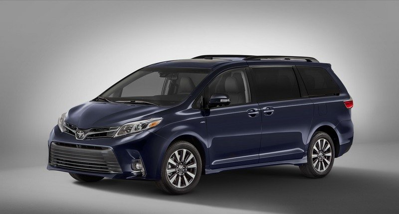 2018 Toyota Sienna High Resolution Exterior - image 710998