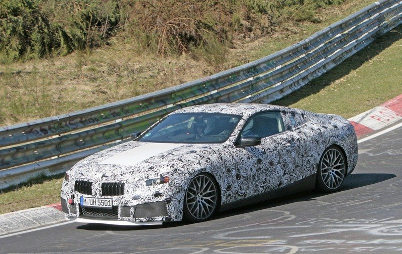 Is BMW Already Testing the M8 on the Nurburgring? Exterior Spyshots - image 711481