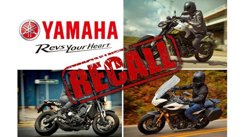 Yamaha Issues Recall On FZ-09, FJ-09 and XSR900