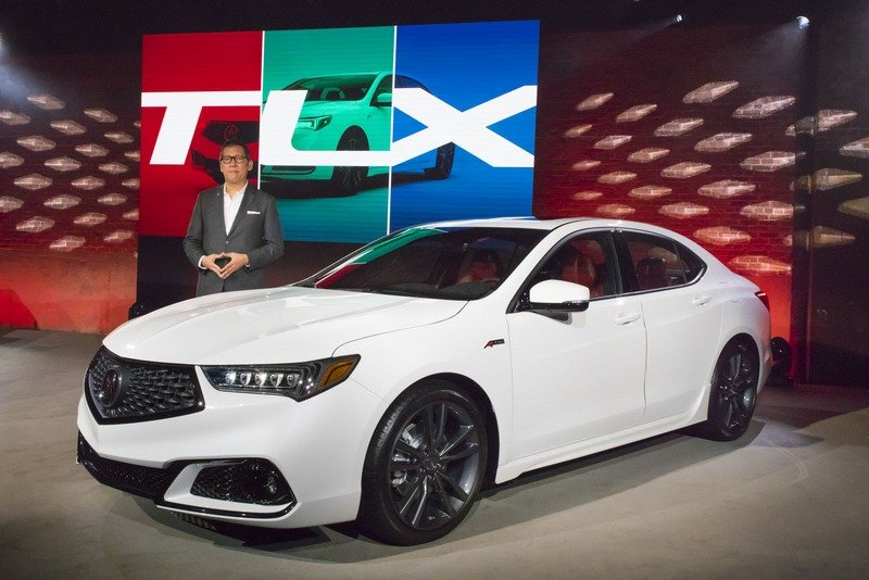 Acura Snarls at Germany with a Viciously Redesigned TLX High Resolution Exterior AutoShow - image 712854