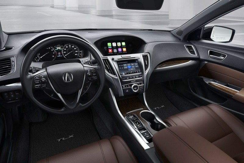 Acura Snarls at Germany with a Viciously Redesigned TLX High Resolution Interior - image 712850