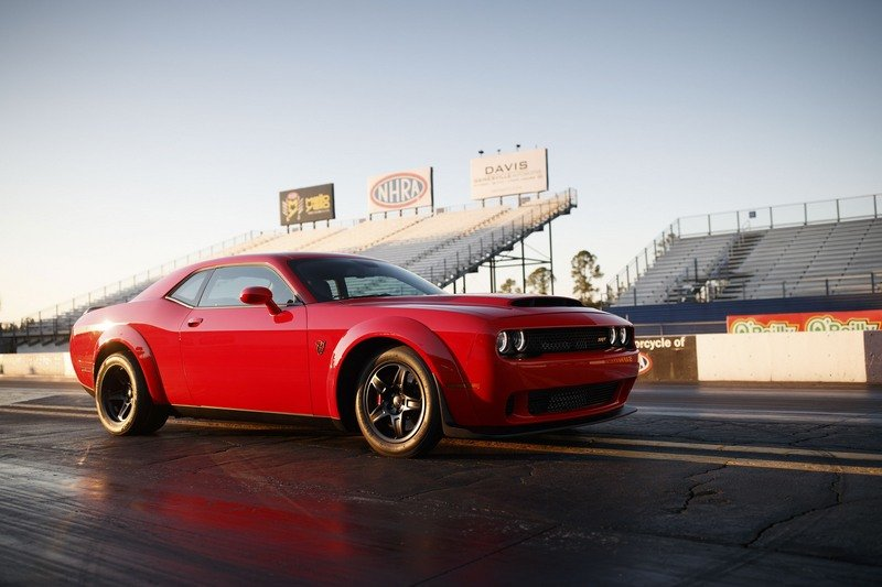Dodge Challenger Demon Is Already Making Its Way Onto Ebay