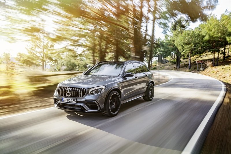 2018 Mercedes-AMG GLC 63 And GLC 63 Coupe Arrive With Healthy Turbo V-8 Power