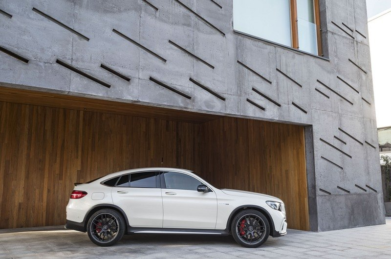 2018 Mercedes-AMG GLC63 Coupe High Resolution Exterior - image 712140