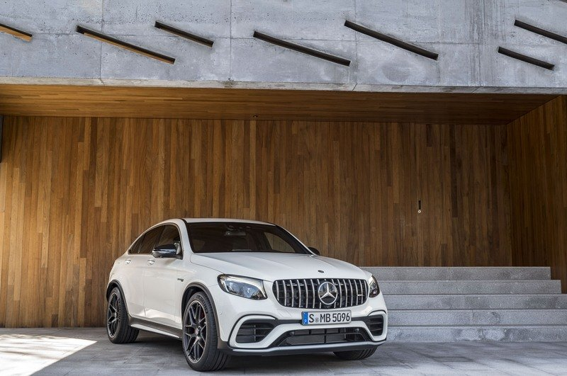 2018 Mercedes-AMG GLC63 Coupe High Resolution Exterior - image 712142