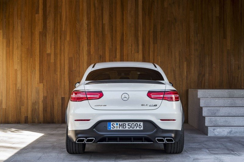 2018 Mercedes-AMG GLC63 Coupe High Resolution Exterior - image 712143